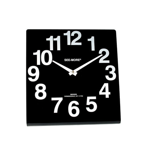 Clock Large Face Tabletop