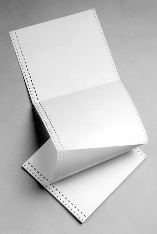 8.5x11 Unpunched Braille Paper
