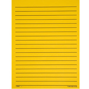 Paper Bold Line - Yellow