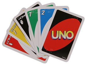 Game UNO Brailled Cards