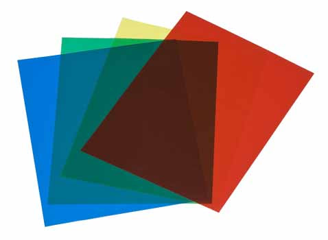 Acetate Colored Single Sheet