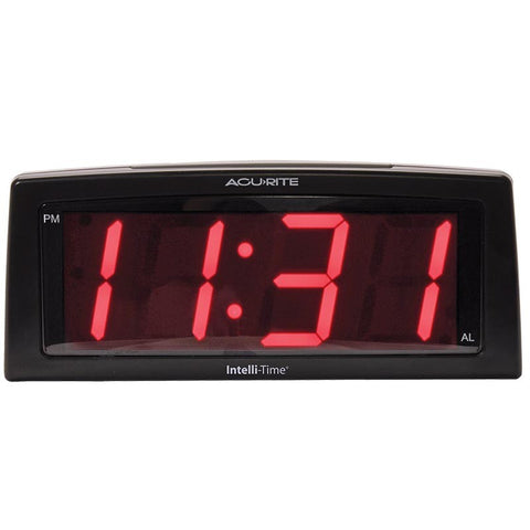 Clock Digital Red Alarm Clock