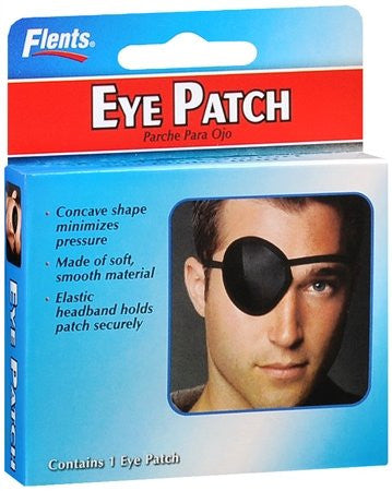 Black Eye Patch w/Strap