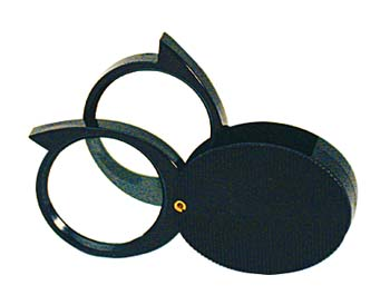 Magnifier 5x-10x Double Lens Pocket
