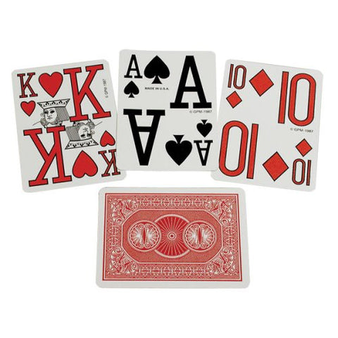 Playing Cards Marinoff Low Vision