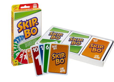 Game Skip Bo Brailled Cards
