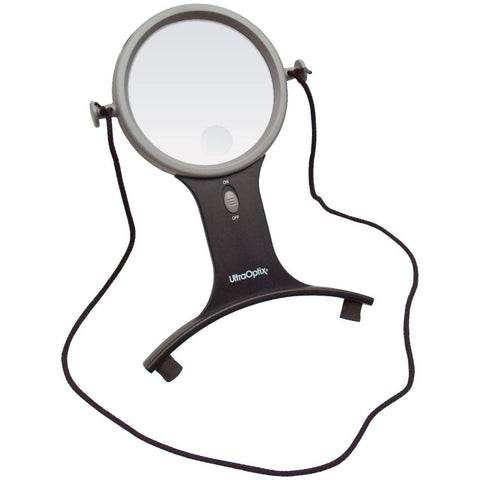 Magnifier Hands Free W/light