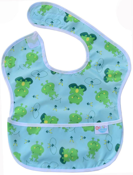 Printed feeding Bib REDUCED TO CLEAR