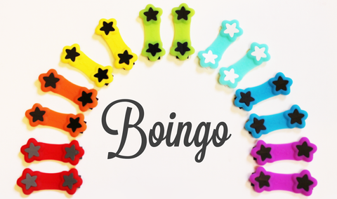 Boingo fasteners - modern nappy pin alternative