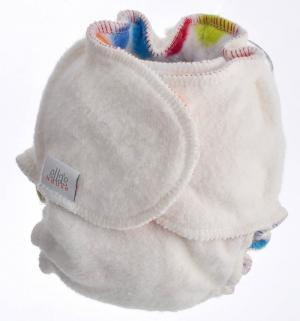 night time nappy with fleece lining