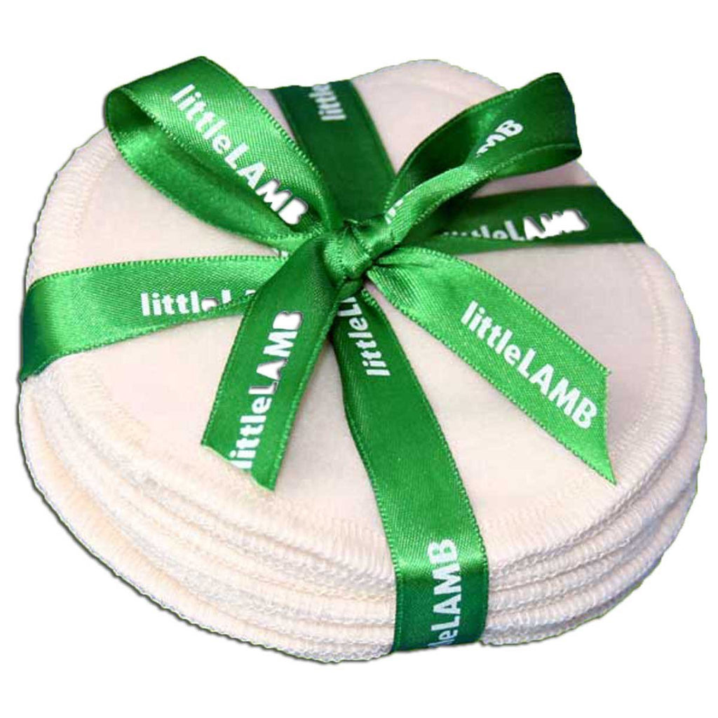 Little Lamb Bamboo breastpads - soft, absorbent and great value