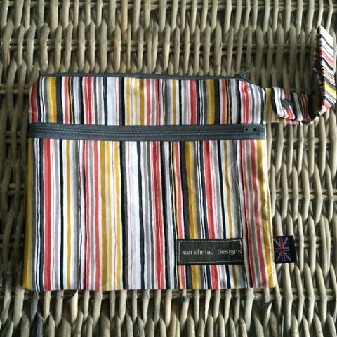 SPICE STRIPE - double pocket sarahmac bag