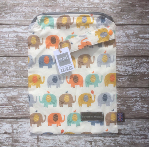 ELEPHANTS medium single zip sarahmac bag