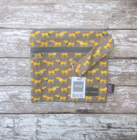 Bandana Dog - double pocket sarahmac bag