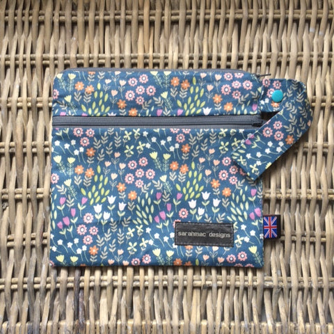 Pretty Flowers - double pocket sarahmac bag
