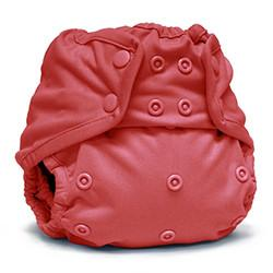 spice coloured nappy cover with popper fastening