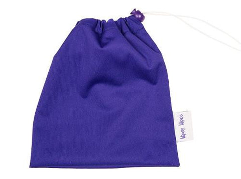 Wipey Wipes drawstring bag