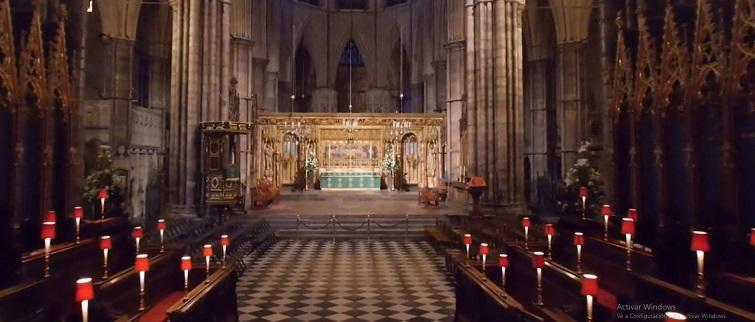 DRONE FOOTAGE OF WESTMINSTER ABBEY