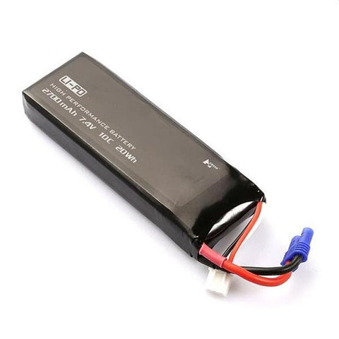 Hubsan H501S X4 7.4V 2700mAh 10C Battery-BatteryMiscellaneous-The Drone Warehouse Ltd
