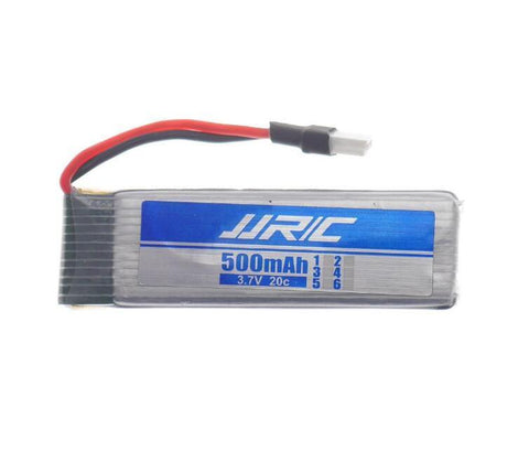 JJRC H37 3.7V 500mAh 20C Li-ion Battery-BatteryMiscellaneous-The Drone Warehouse Ltd