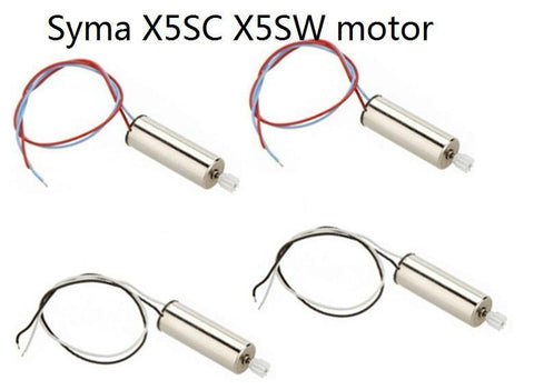 SYMA X5SW Quadcopter Spare Motor Set-MotorSYMA-The Drone Warehouse Ltd