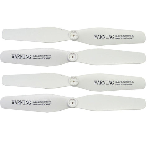 SYMA X5UC X5UW Propeller Set White-Propeller SetSYMA-The Drone Warehouse Ltd