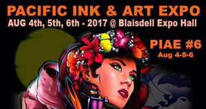 6th Annual Pacific Ink and Art Expo August 2017