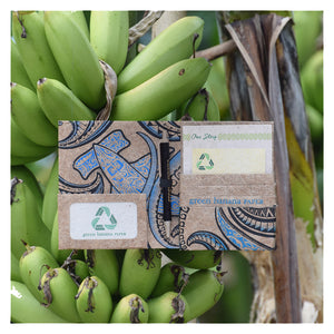 Green Banana Paper Travel Passport Vegan Wallet Collection