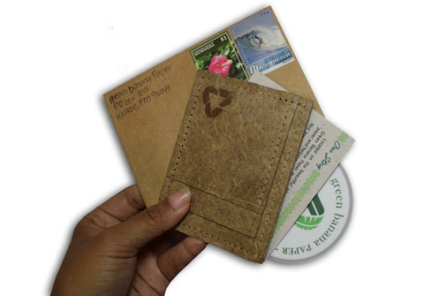 slim wallet free shipping in stamped envelope