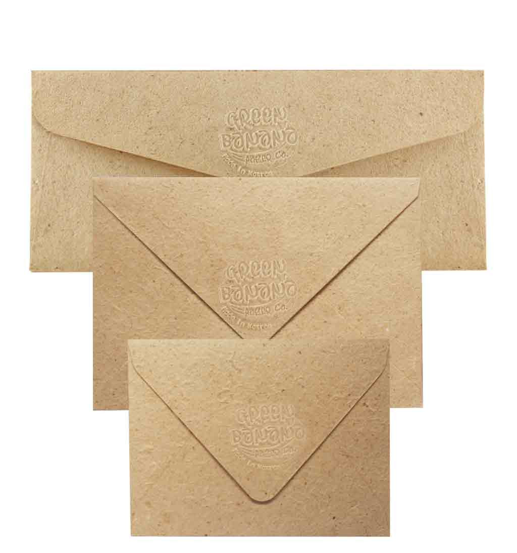 Envelopes - Green Banana Paper
