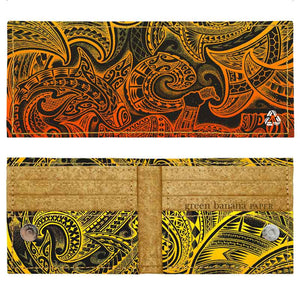 Bifold Wallets - Green Banana Paper