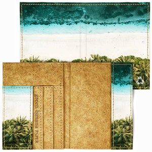 Passport Wallets - Green Banana Paper