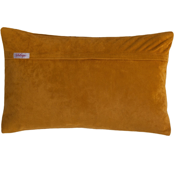 Tatted Golden Pillow 12X20""