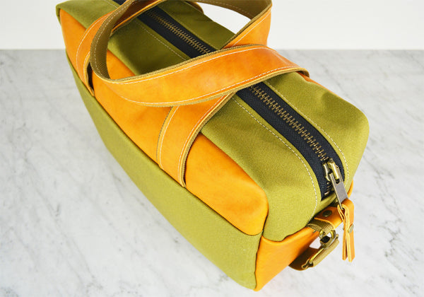 Leather - Cordura Duffel bag
