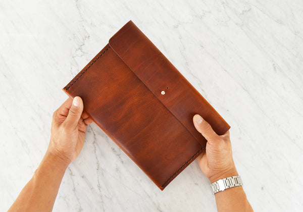 Leather iPad - Sleeve