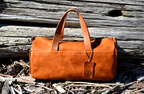Overnight / Leather Duffel bag