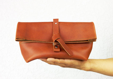 Dopp kit / Leather Toiletry bag