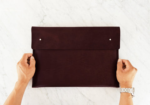 Leather Macbook Sleeve