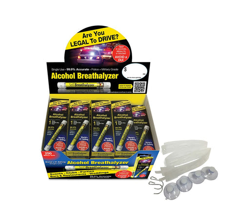 24 Self Breathalyzer™ .08 BAC-Prem Flex POS Box