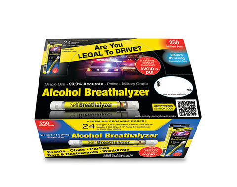 8x24 Self Breathalyzer™ .08 BAC-POS Case