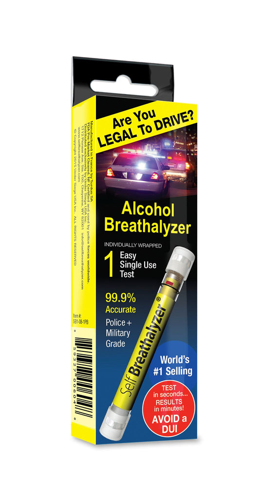 5 Self Breathalyzer™ .08 BAC-Prem Peg Box
