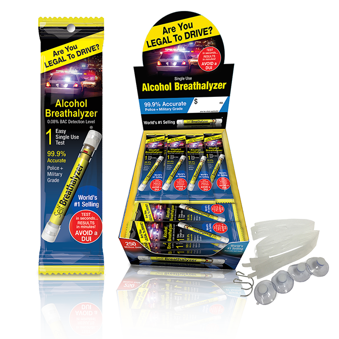 Self Breathalyzer 24 Pack