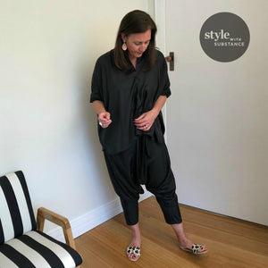 stylist tip : silk harm pants three ways
