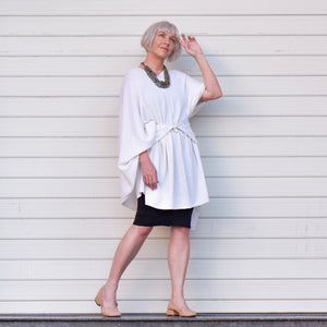 4 Ways To Style The Oversized Wrap By Karen Uhlmann