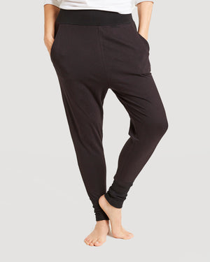 french terry cotton jogger pant