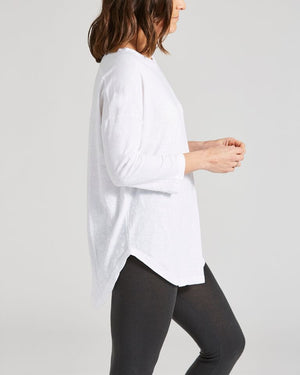 oversized 3/4 sleeve tee