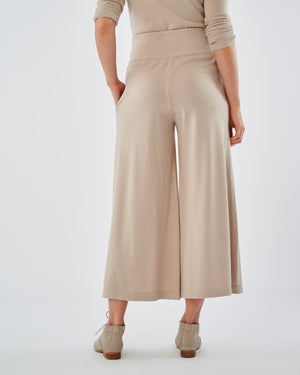 Milan Cotton Knit Culottes