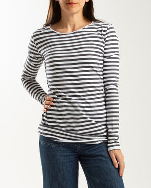 cotton jersey long sleeve tee