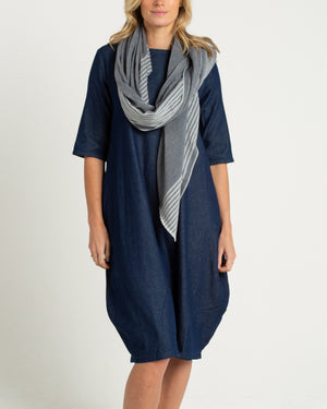 denim relaxed fit dress