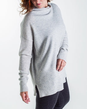 cashmere oversized relaxed turtleneck